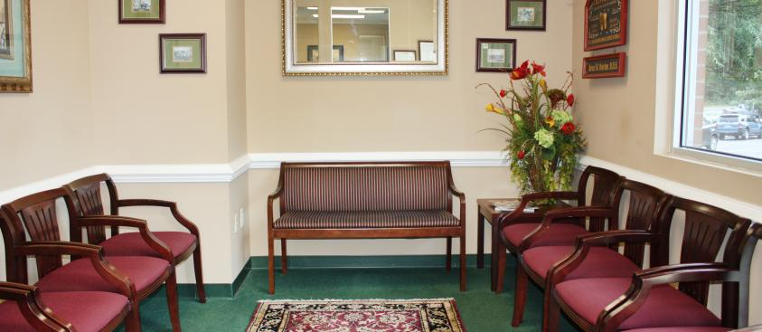 Comfortable Waiting Room